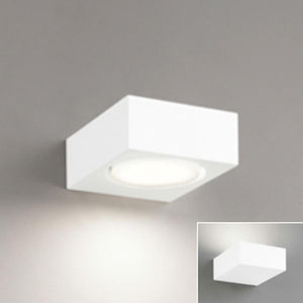 オーデリック LEDブラケットライト 壁面・天井面・傾斜面取付兼用 上・下・縦向き取付可能 白熱灯60W相当 電球色~昼光色 調光・調色 Bluetooth®対応 OB080890BC