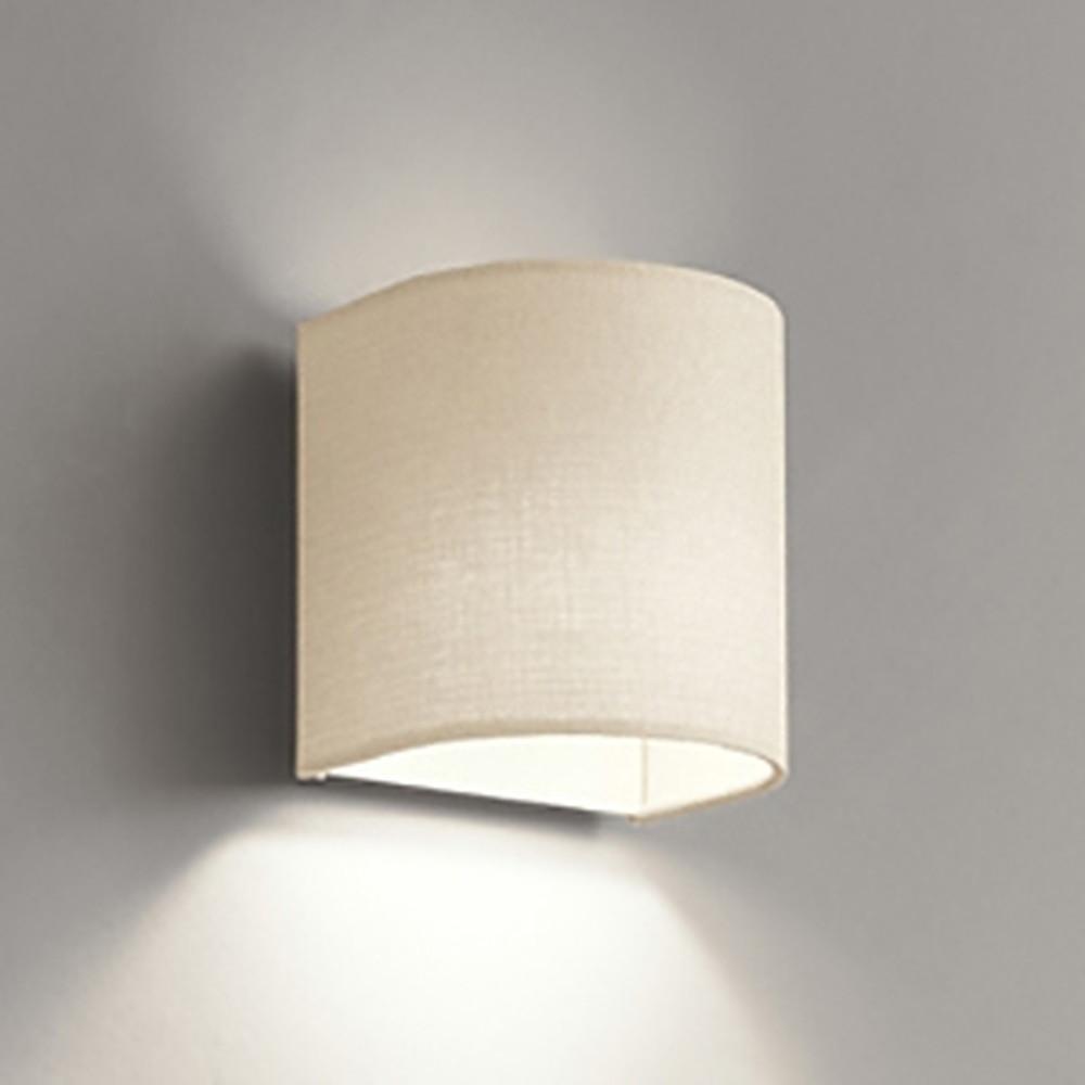 オーデリック LEDブラケットライト 白熱灯60W相当 電球色 アイボリー OB255077LD1