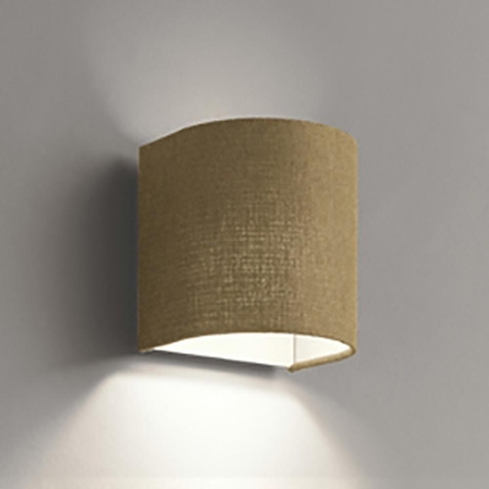 オーデリック LEDブラケットライト 白熱灯60W相当 電球色 調光タイプ チノベージュ OB255078LC1