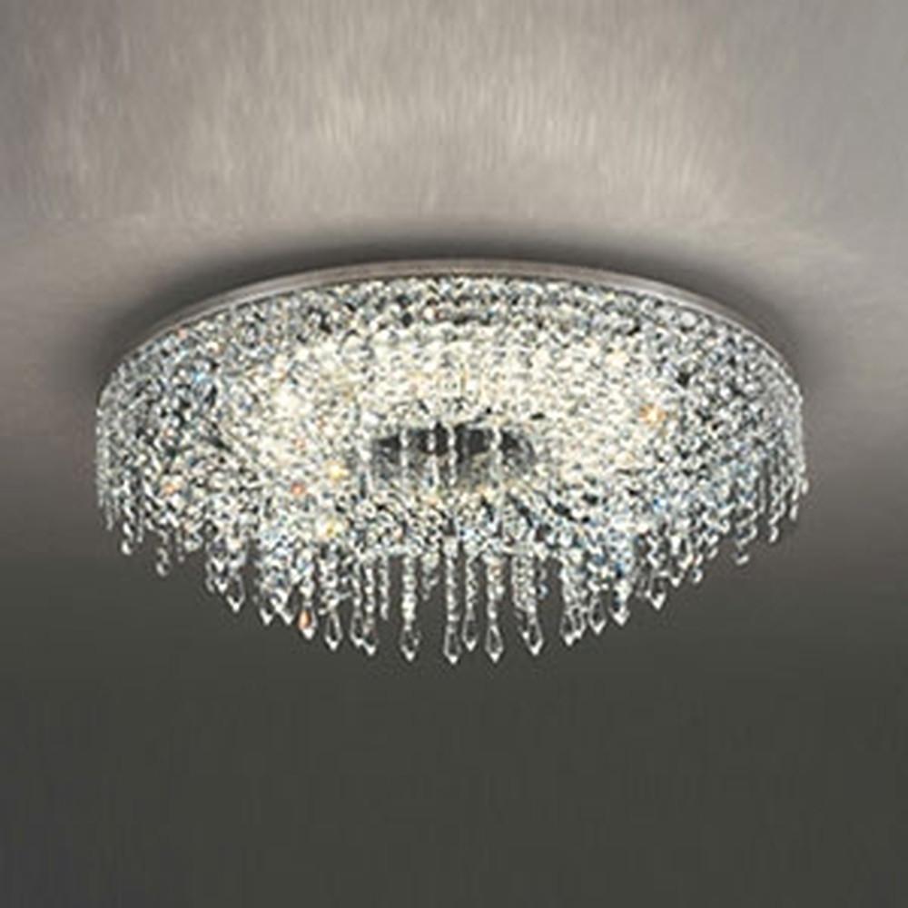 オーデリック LED一体型シャンデリア ~12畳用 電球色~昼光色 調光・調色タイプ Bluetooth®対応 赤外線リモコン付 OC257133BC