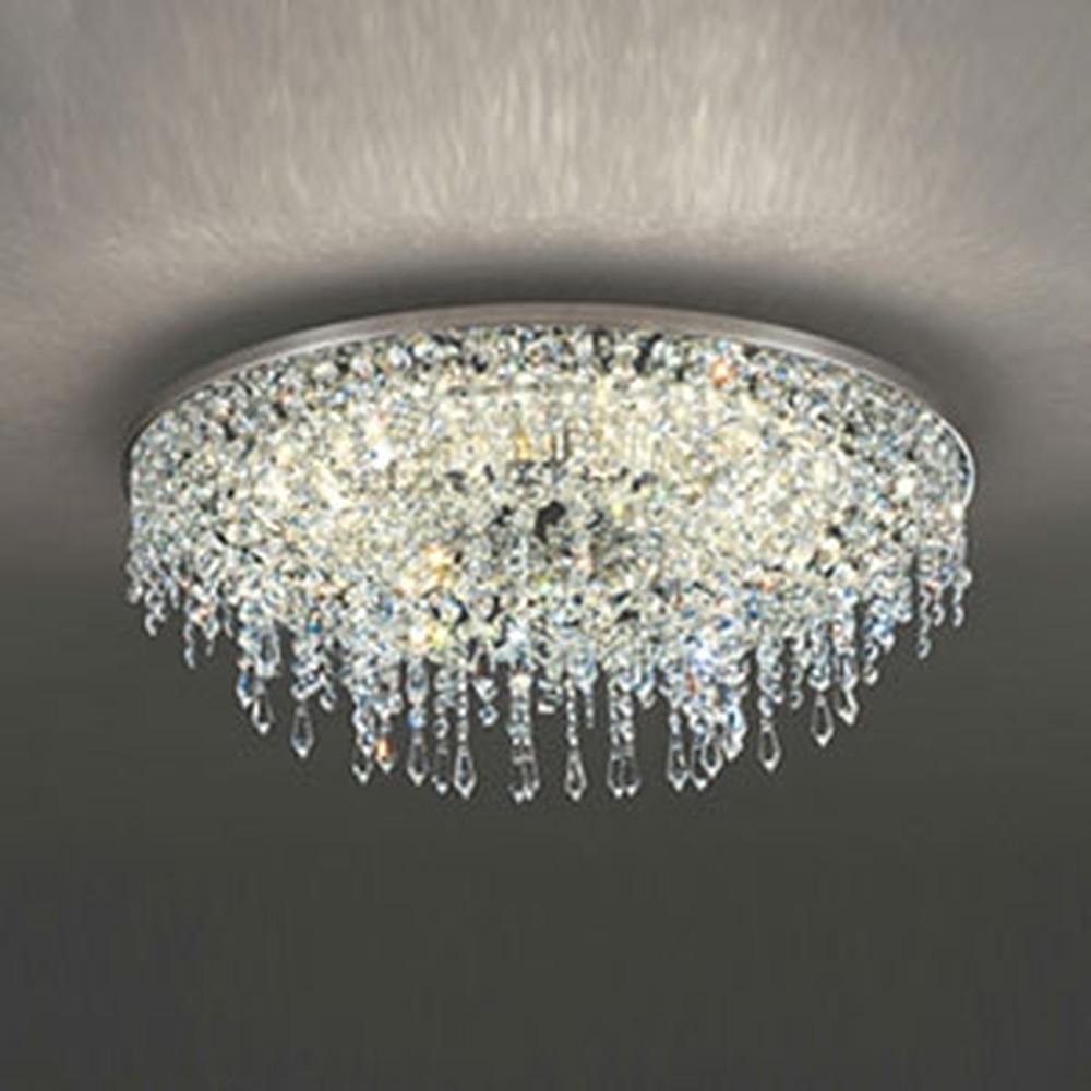 オーデリック LED一体型シャンデリア ~10畳用 電球色~昼光色 調光・調色タイプ Bluetooth®対応 赤外線リモコン付 OC257134BC