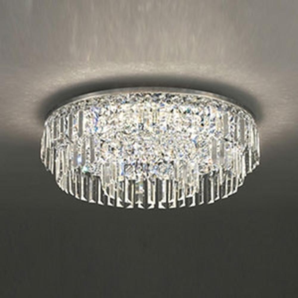 オーデリック LED一体型シャンデリア ~10畳用 電球色~昼光色 調光・調色タイプ Bluetooth®対応 赤外線リモコン付 OC257136BC
