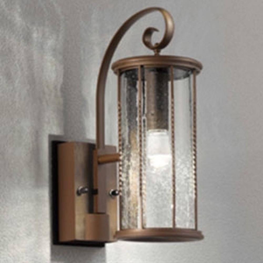 オーデリック LEDポーチライト 防雨型 白熱灯40W相当 電球色 別売センサ対応 鉄錆 OG041474LC1