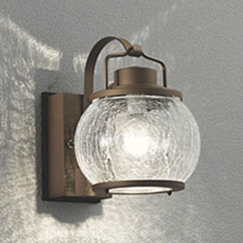 オーデリック LEDポーチライト 防雨型 白熱灯40W相当 電球色 別売センサ対応 鉄錆 OG041616LC1