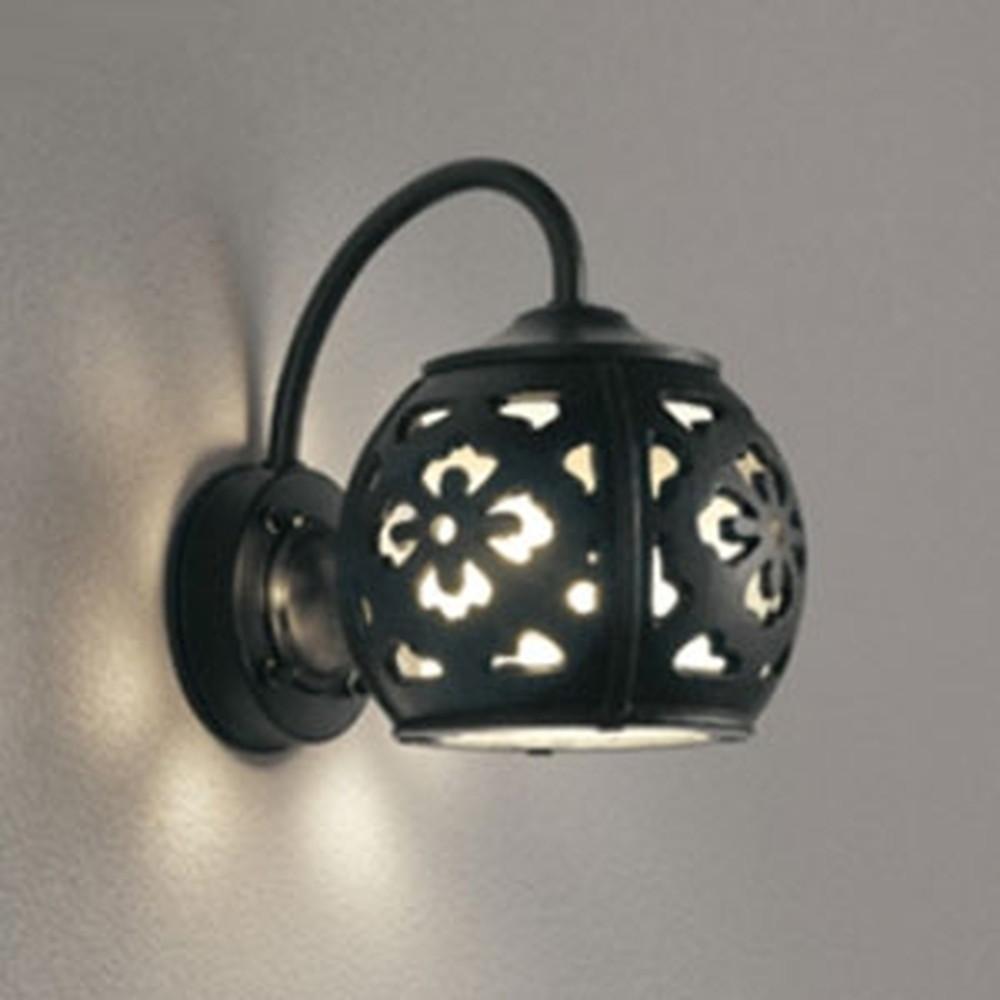 オーデリック LEDポーチライト 防雨型 白熱灯60W相当 電球色 別売センサ対応 OG254394LC