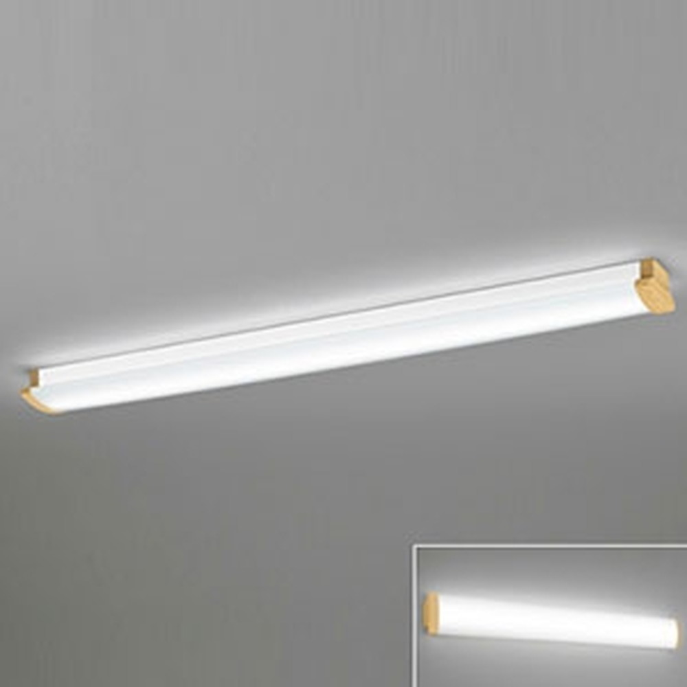オーデリック LED一体型ブラケットライト 《SOLID LINE》 幅広タイプ 壁面・天井面・傾斜面取付兼用 Hf32W定格出力×2灯相当 電球色~昼光色 調光・調色 Bluetooth®対応 木調ナチュラル OL291029B4M
