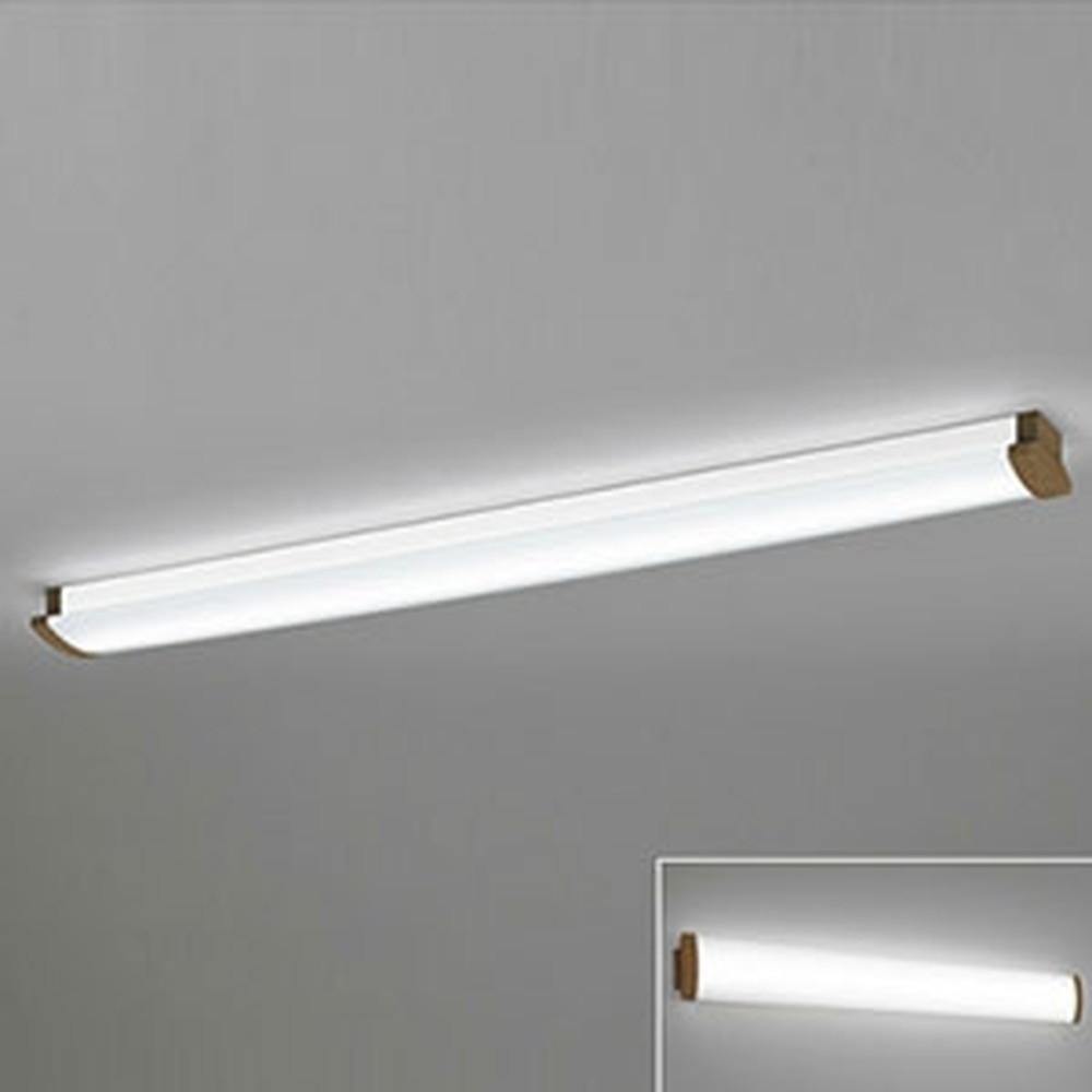 オーデリック LED一体型ブラケットライト 《SOLID LINE》 幅広タイプ 壁面・天井面・傾斜面取付兼用 Hf32W定格出力×2灯相当 電球色~昼光色 調光・調色 Bluetooth®対応 木調ウォールナット OL291031B4M