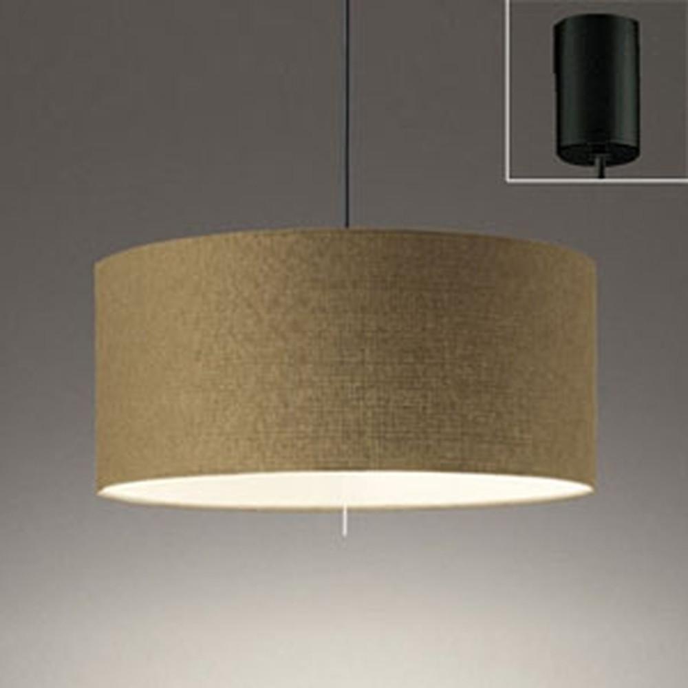 オーデリック LEDペンダントライト 白熱灯100W×2灯相当 電球色 プルスイッチ付 チノベージュ OP252293LD1