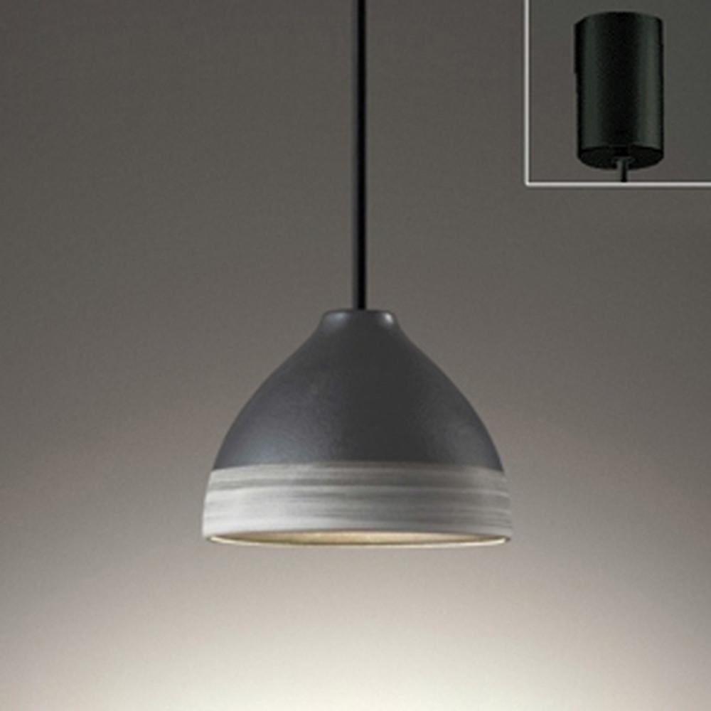 オーデリック LEDペンダントライト 引掛シーリングタイプ 白熱灯60W相当 電球色~昼光色 調光・調色 Bluetooth®対応 鉄釉・刷毛目入 OP252598BC