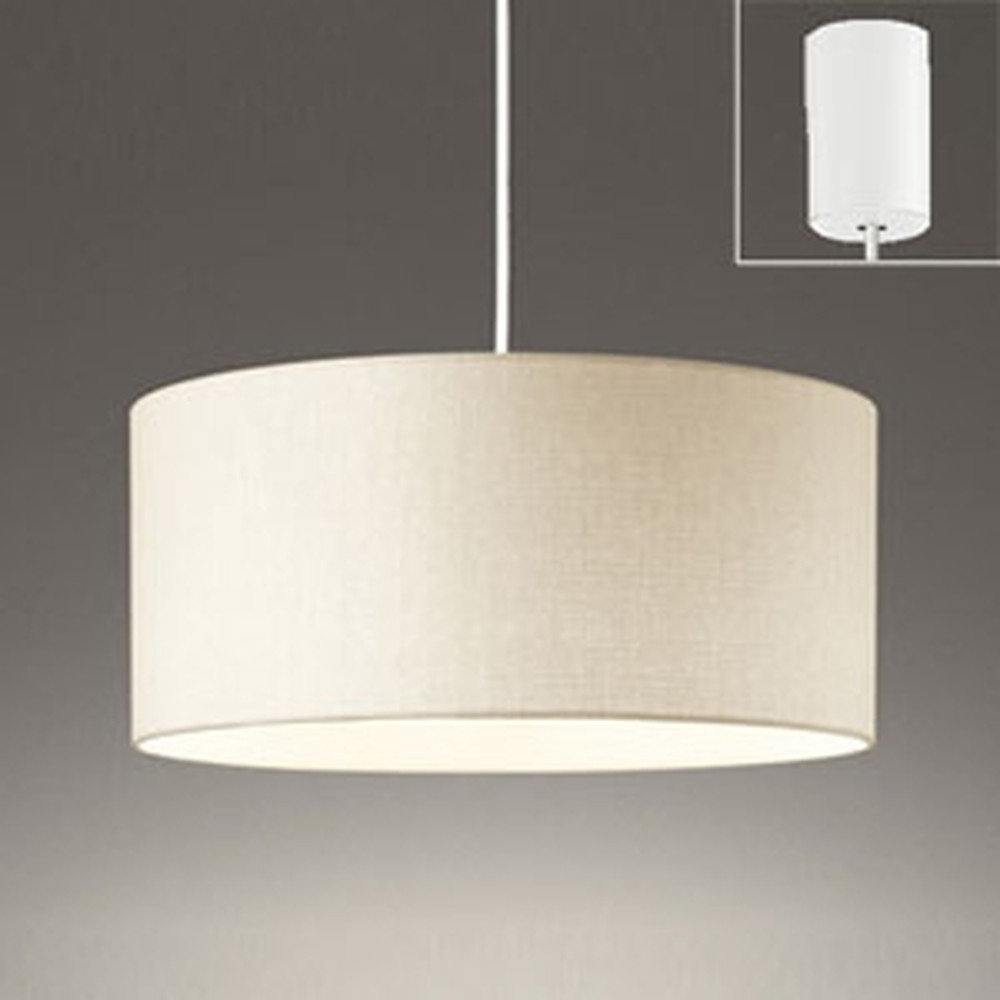 オーデリック LEDペンダントライト 白熱灯60W×3灯相当 電球色 アイボリー OP252603LD