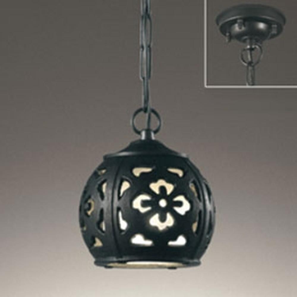 オーデリック LEDガーデンライト 簡易防雨型 白熱灯60W相当 電球色 OP252624LC