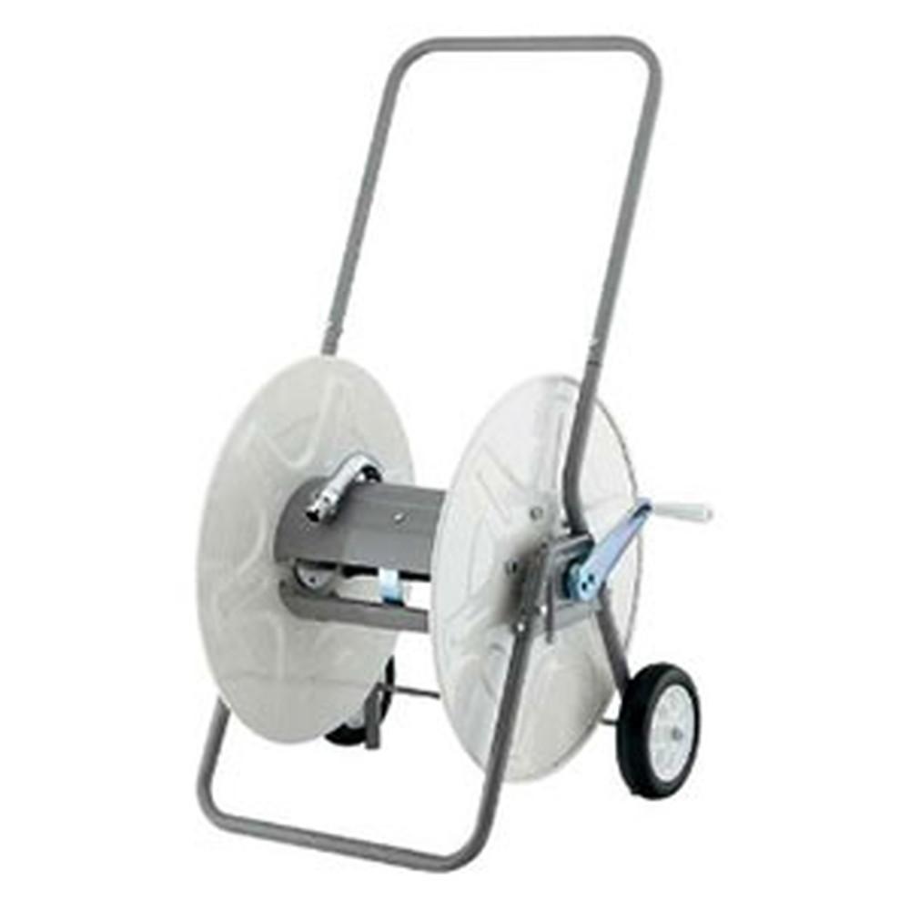 カクダイ 業務用ホースドラム 組立式 散水・屋外冷却用 553-700