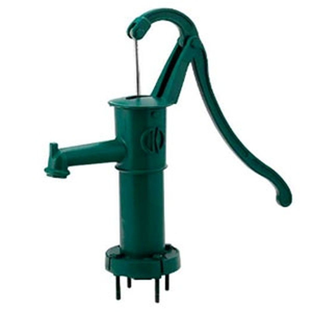カクダイ ガーデンポンプ 打込式 雨水利用・農作業・非常用 呼び32 グリーン 734-041-32