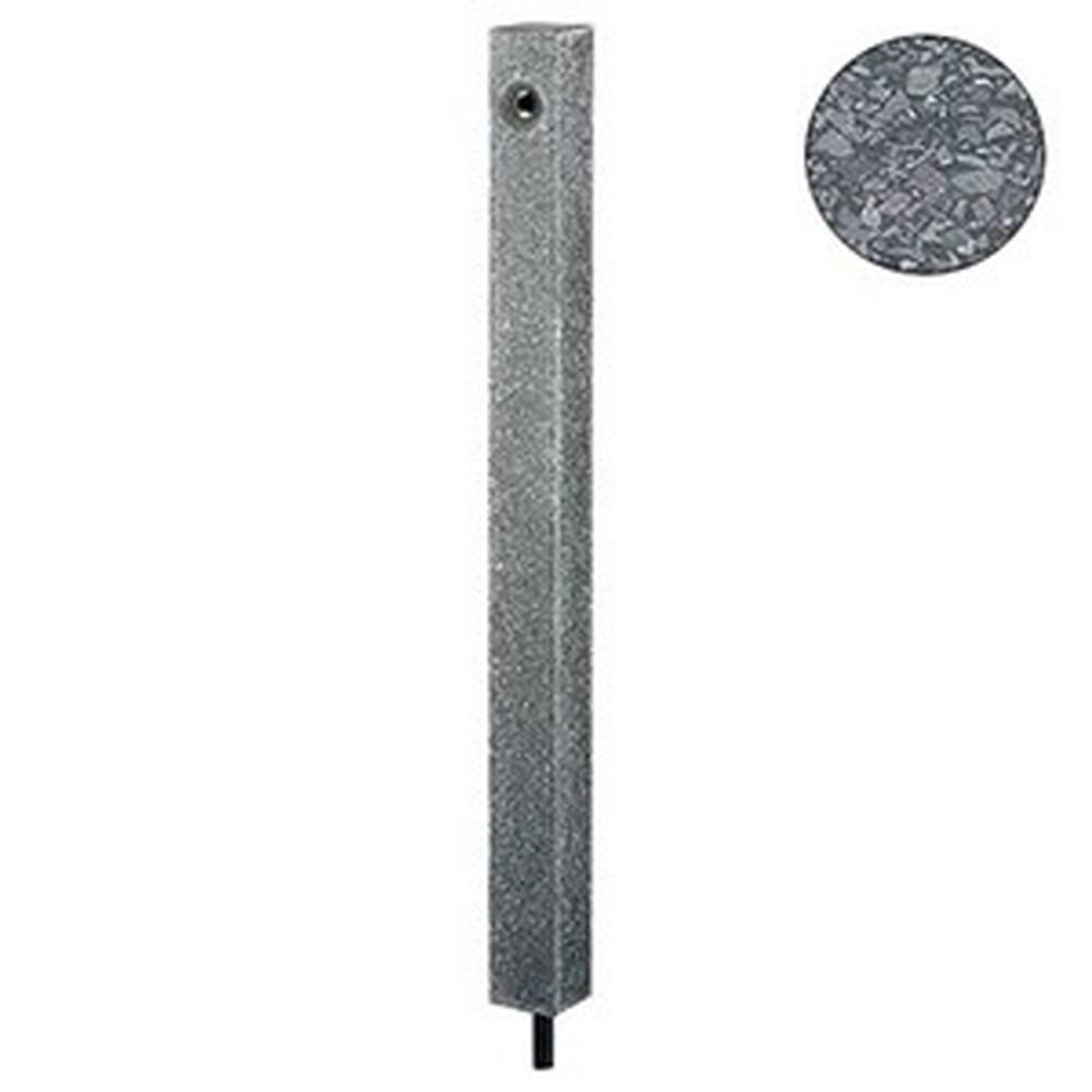 カクダイ 水栓柱 下給水タイプ 長さ850mm 人研ぎ・美濃黒石 624-152