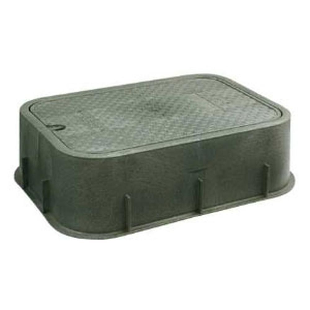 カクダイ 水力発電自動弁用ボックス Y型ストレーナー・電磁弁・水力発電機収納用 504-010