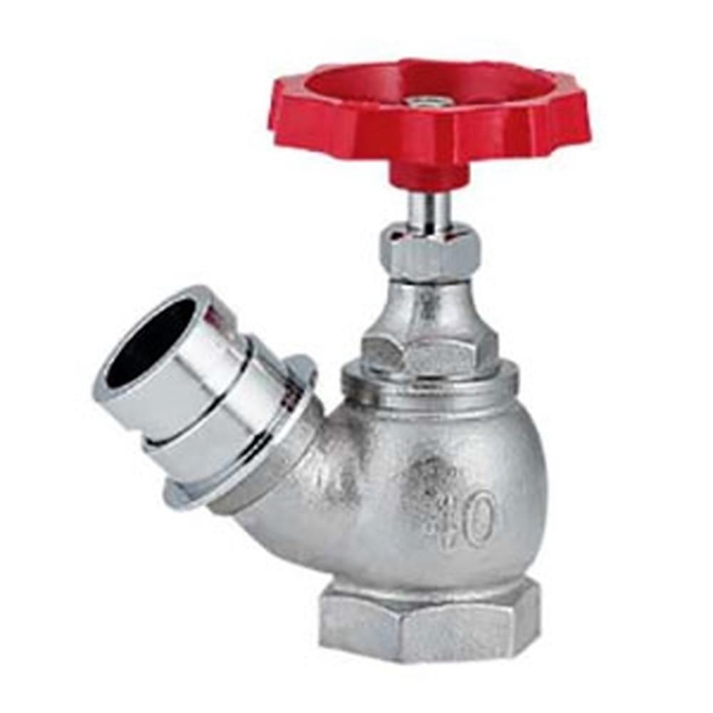 カクダイ 散水栓45° 大口径タイプ 農水用 呼び65 マチノオス 652-710-65