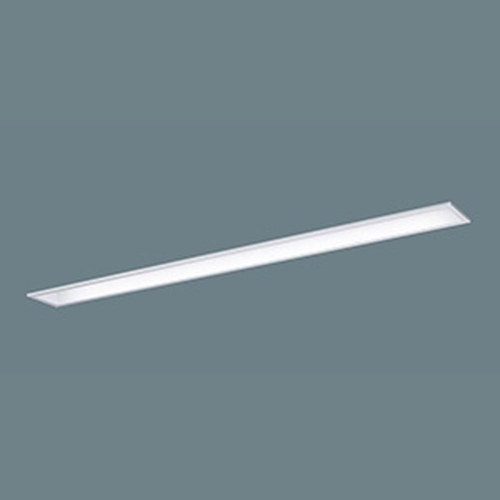 パナソニック 【お買い得品 10台セット】 一体型LEDベースライト 《iDシリーズ》 40形 埋込型 下面開放型 W100 一般タイプ 3200lmタイプ 非調光タイプ Hf32形高出力型器具×1灯相当 昼光色 XLX430MEDTLE9_set