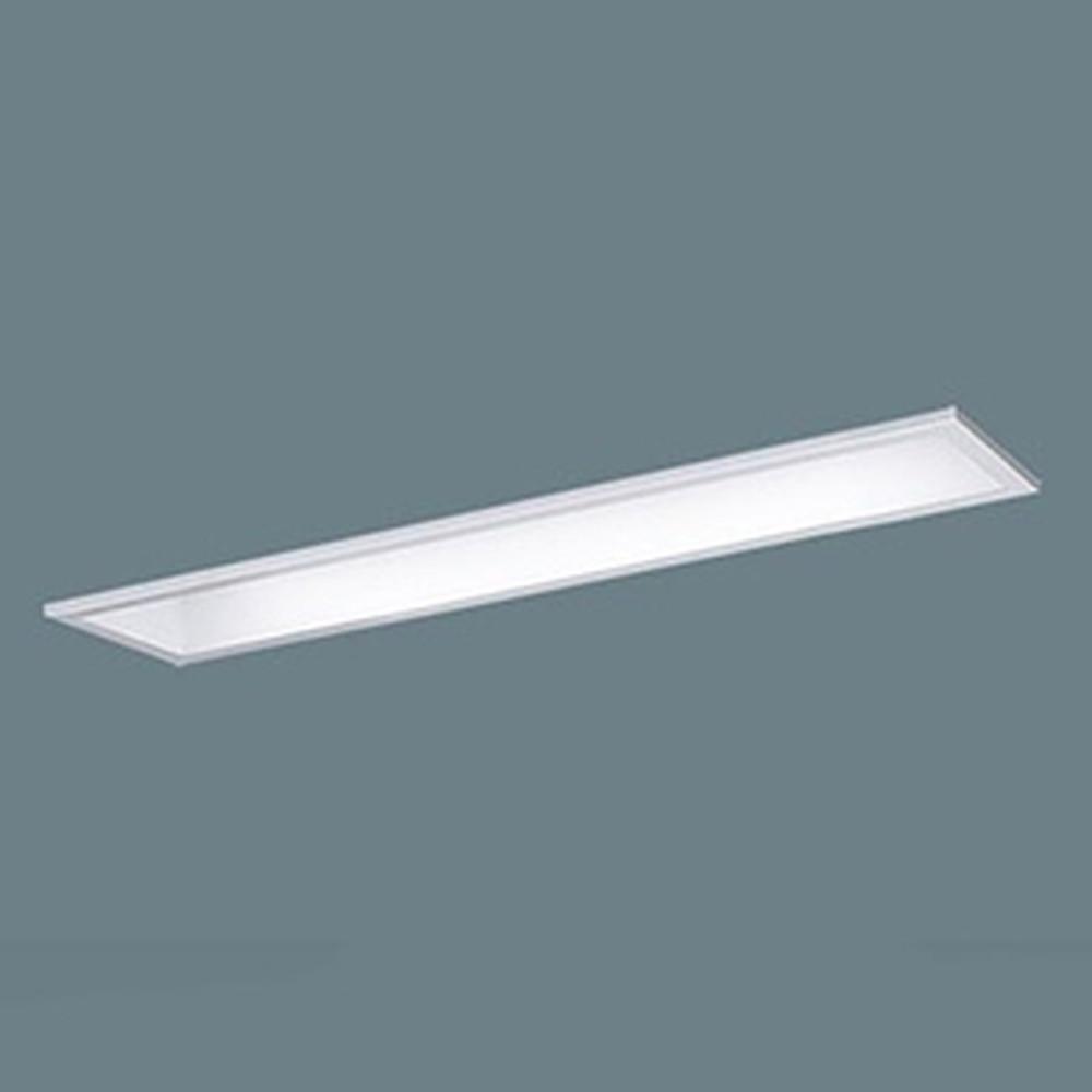 パナソニック 【お買い得品 10台セット】 一体型LEDベースライト 《iDシリーズ》 20形 埋込型 下面開放型 W100 一般タイプ 3200lmタイプ 非調光タイプ Hf16形高出力型器具×2灯相当 昼白色 XLX230MENJLE9_set