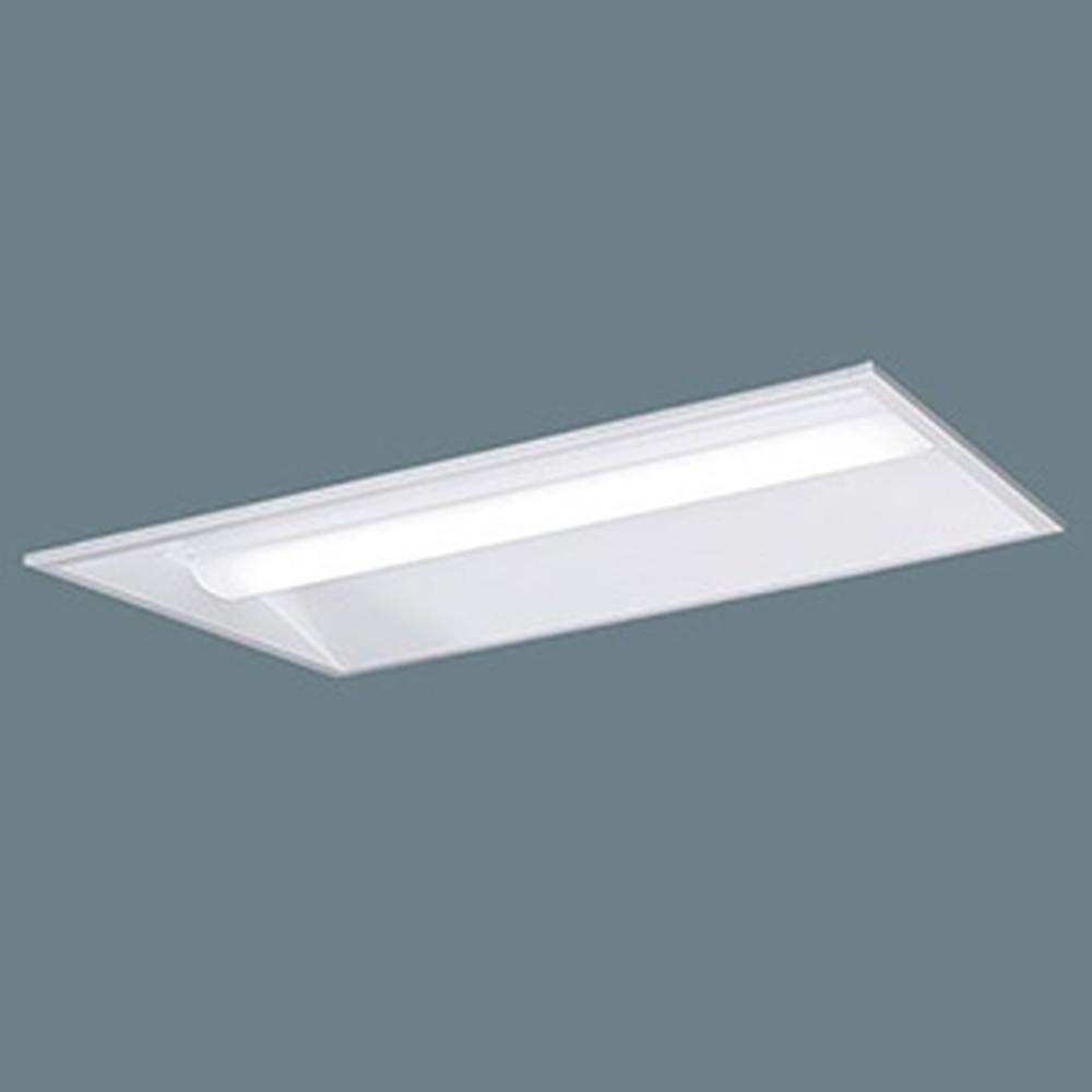 パナソニック 【お買い得品 10台セット】 一体型LEDベースライト 《iDシリーズ》 20形 埋込型 下面開放型 W300 一般タイプ 1600lmタイプ 非調光タイプ FL20形器具×2灯相当 昼白色 XLX210VENJLE9_set