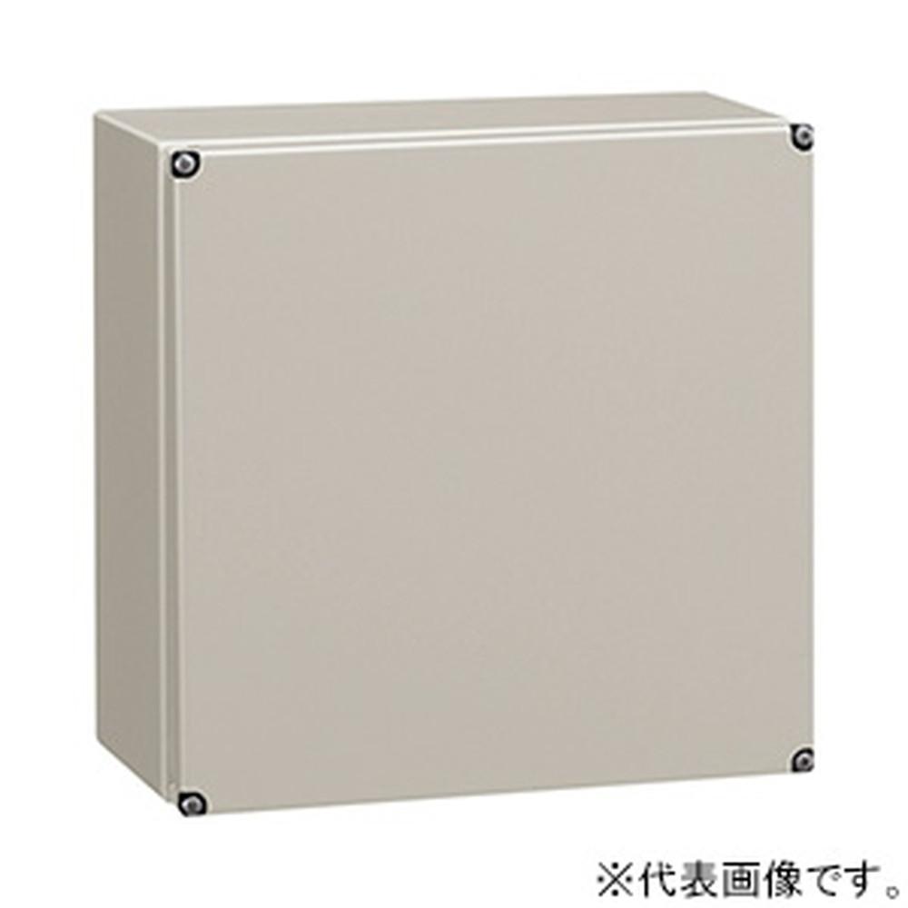 日東工業 高気密小型ボックス 《EPTY》 防塵・防水形 カバー式 鉄製基板付 横500×縦500×深120mm CF12-55