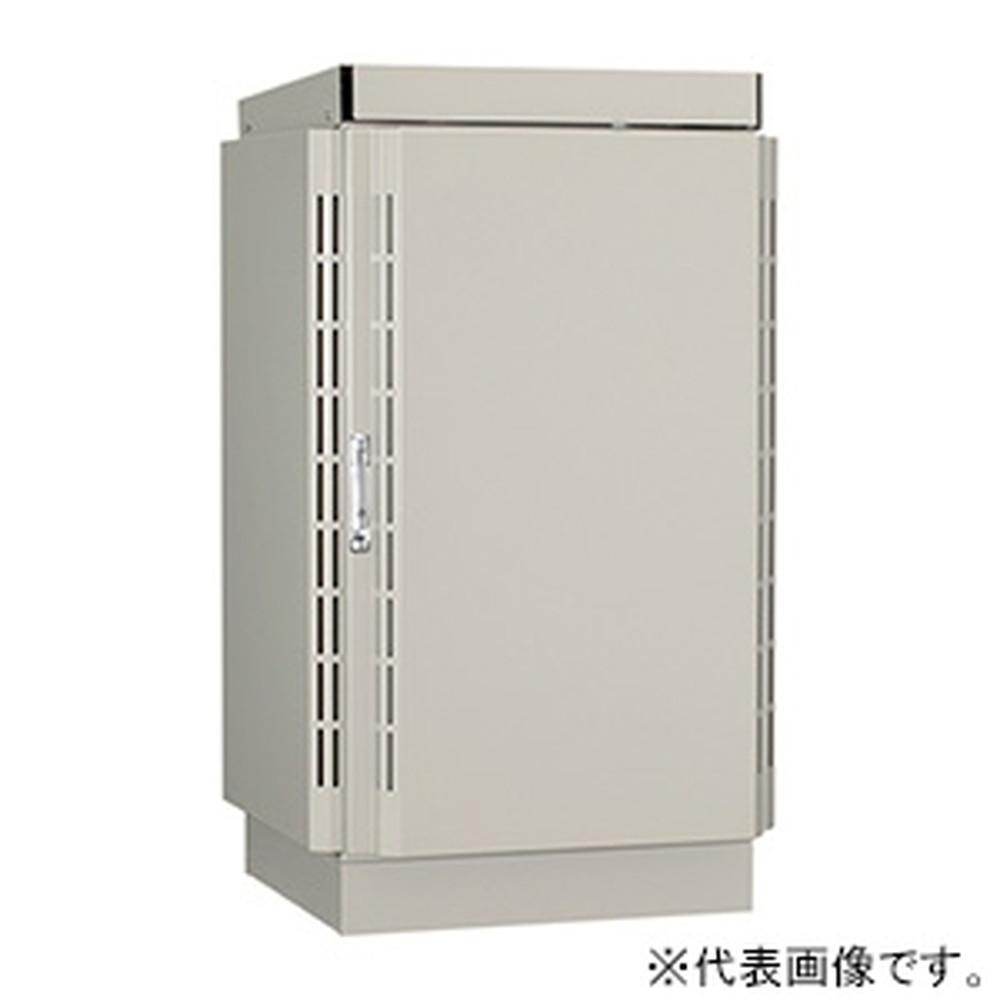 【受注生産品】 日東工業 屋外用熱対策通信キャビネット 《冷キャビ》 自立用 19インチヨコ置タイプ 19U 搭載可能熱量515W 電子クーラ仕様 RCJ60-610Y-P30N