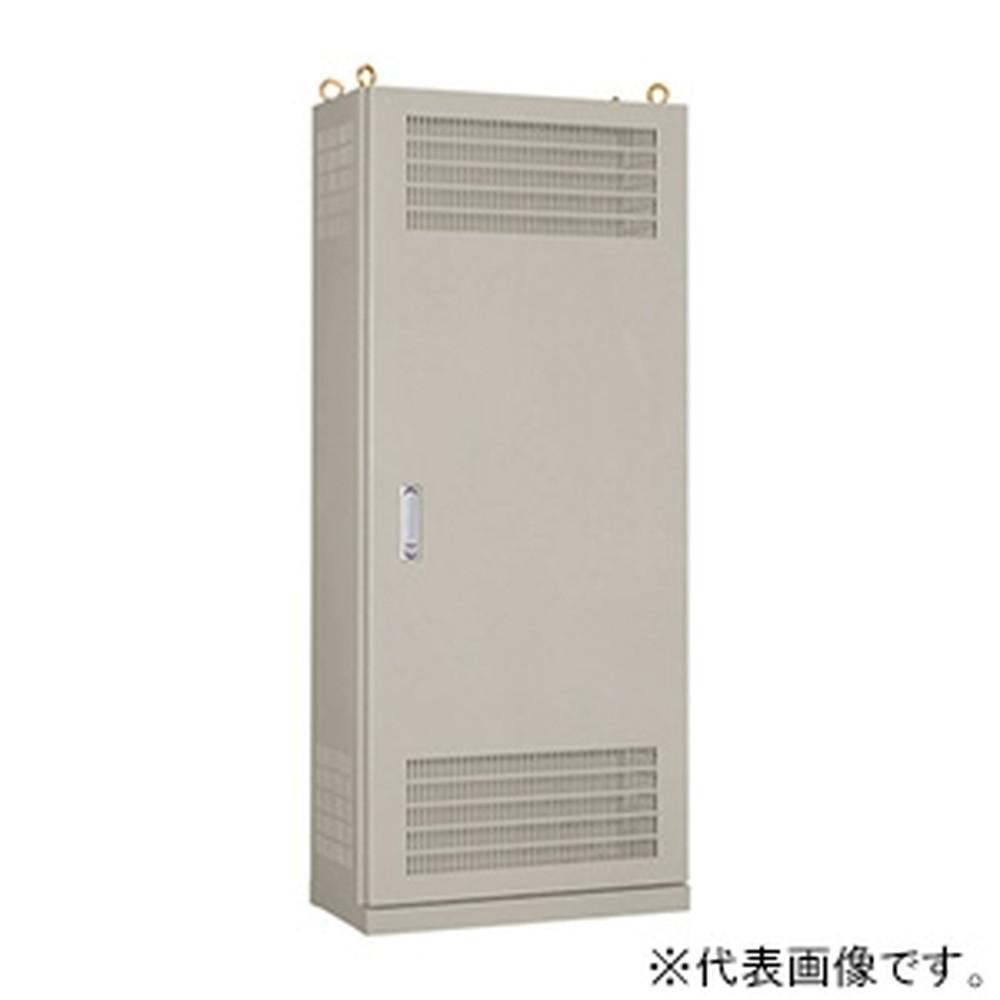 日東工業 熱機器収納自立キャビネット 片扉 鉄製基板付 横800×縦1400×深350mm E35-814LA