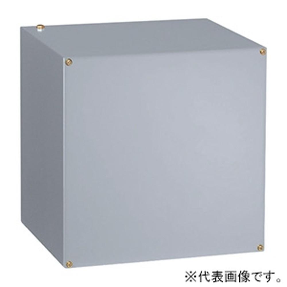 日東工業 プルボックス 公共建築工事標準仕様 電気亜鉛めっき鋼板・接地端子付 横500×縦500×深300mm 500×500×300KG