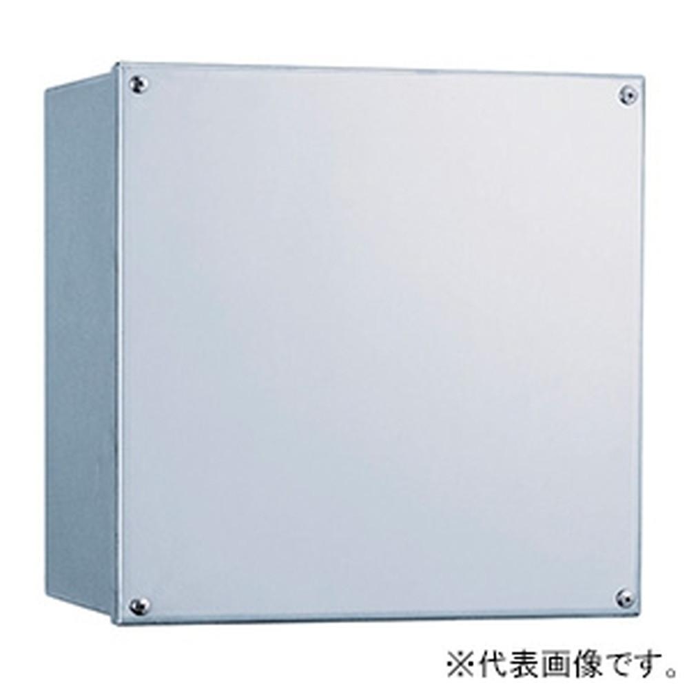 日東工業 ステンレス防水形プルボックス 横150×縦150×深100mm 150×150×100S