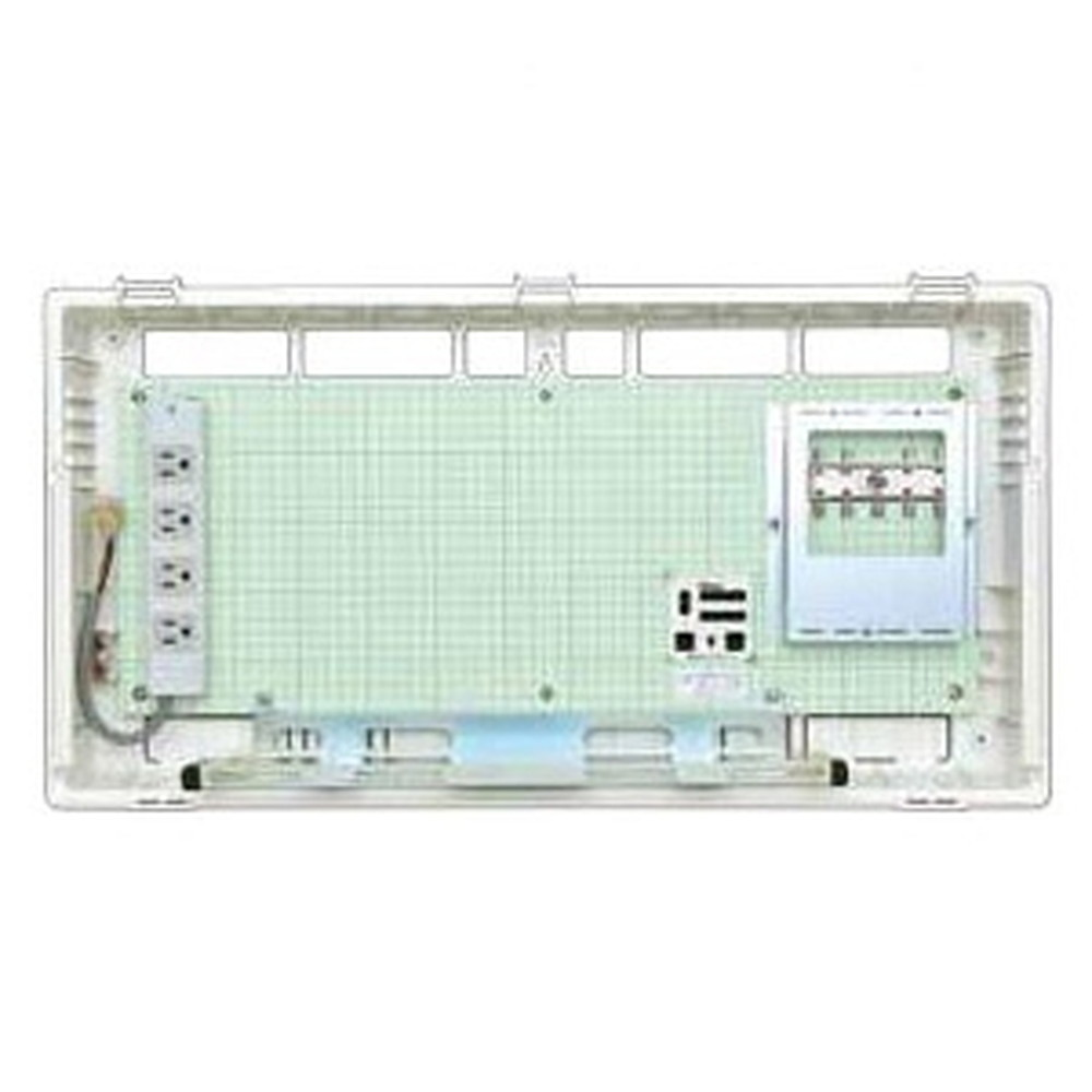 Abaniact 情報盤 ディープタイプ(深型) 4K・8K対応 収納タイプ HUB・ブースタなし AD-808F-00