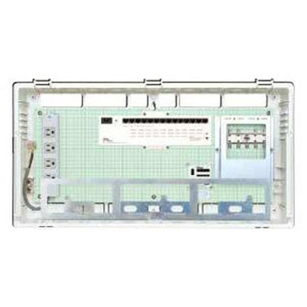 Abaniact 情報盤 ラージタイプ 4K・8K対応 収納タイプ 1ギガHUB14ポート搭載 ブースタなし AL-8148F-00