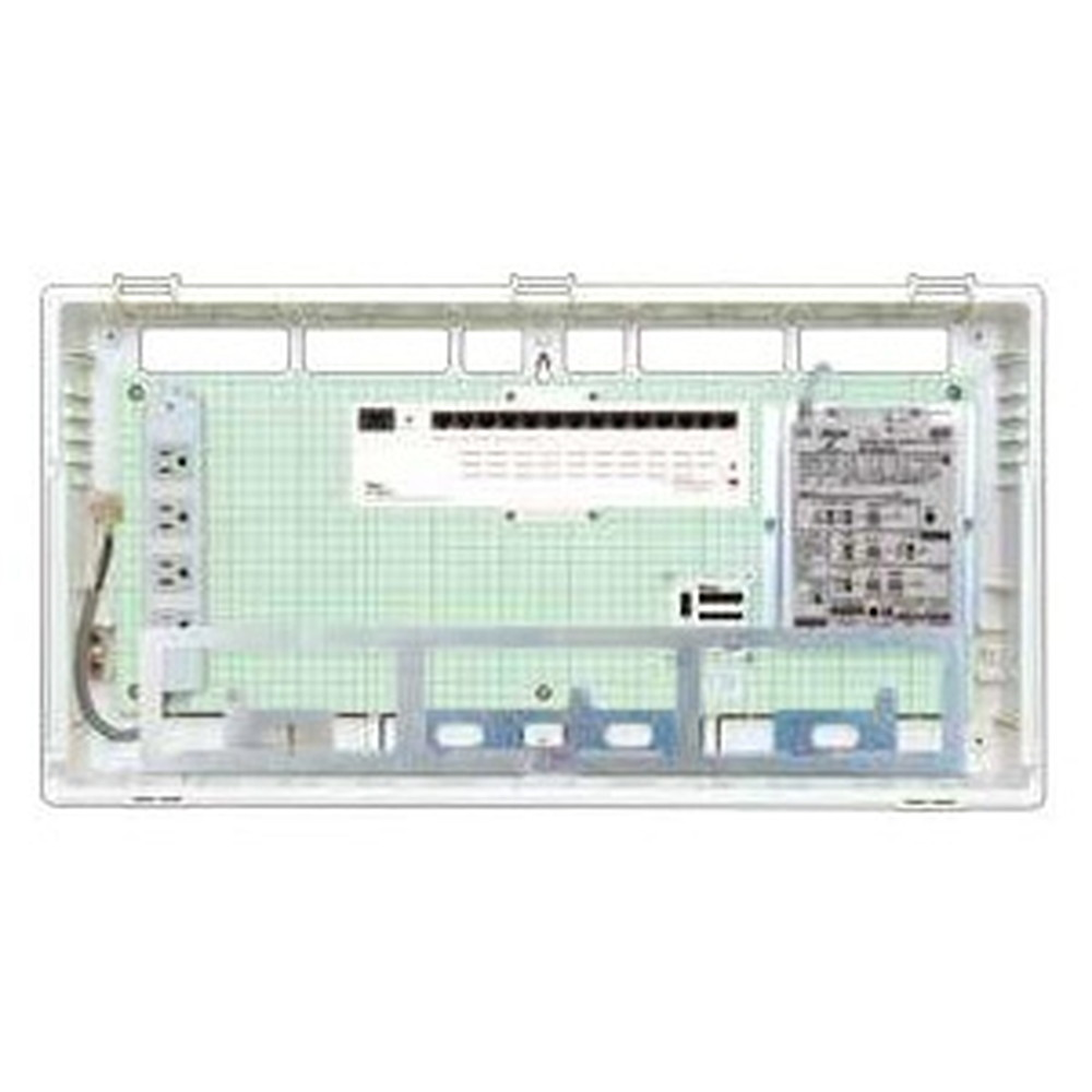 Abaniact 情報盤 ラージタイプ 4K・8K対応 収納タイプ 1ギガHUB14ポート搭載 マルチブースタ付 AL-8148M-00