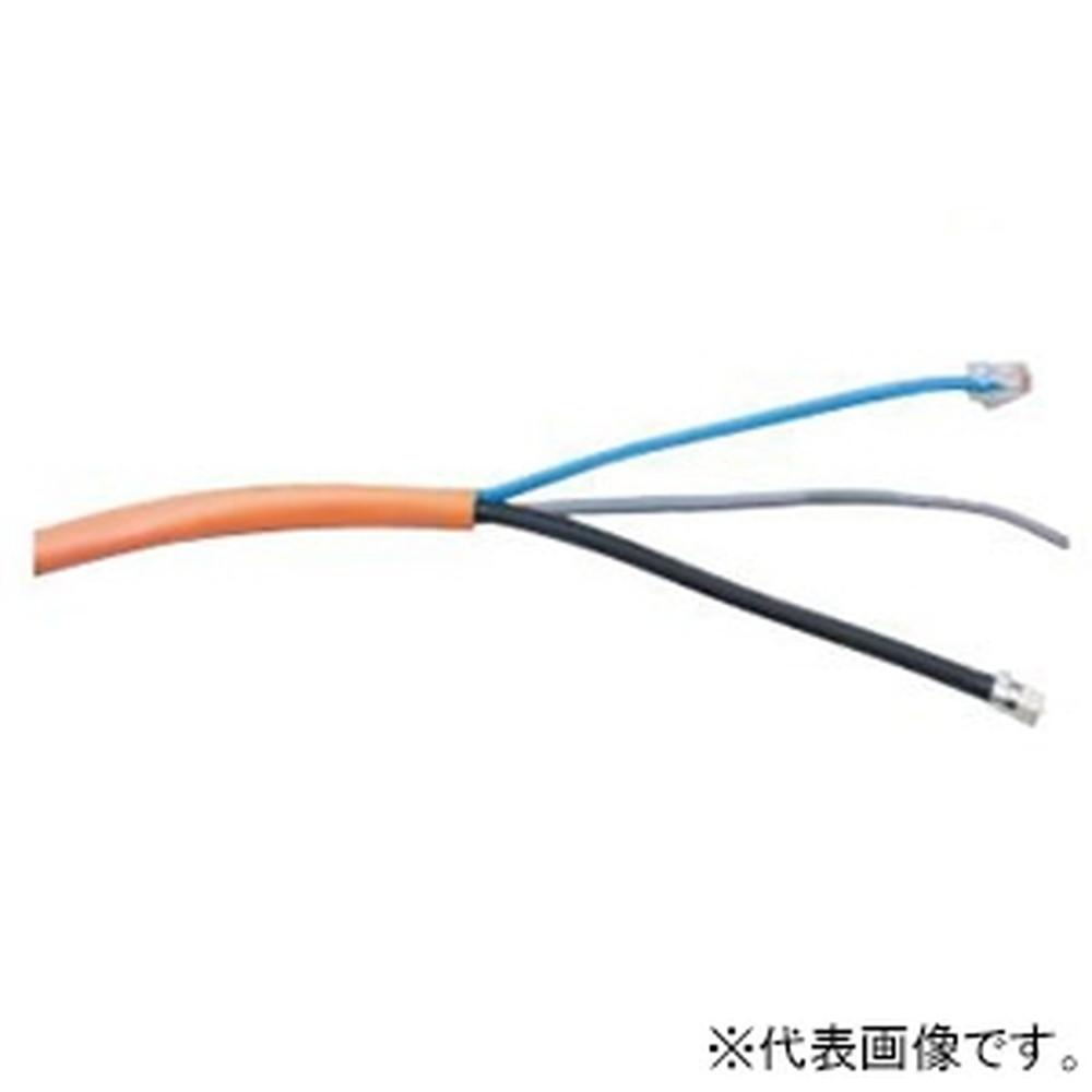 Abaniact 複合ケーブル Cat5eタイプ LAN・TEL・TV 長さ20m AW-200W-VTL