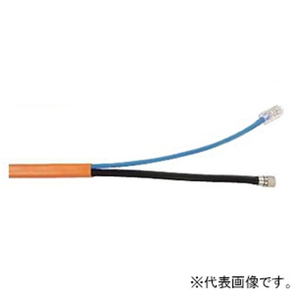 Abaniact 複合ケーブル Cat5eタイプ LAN・TV 長さ25m AW-250W-VL