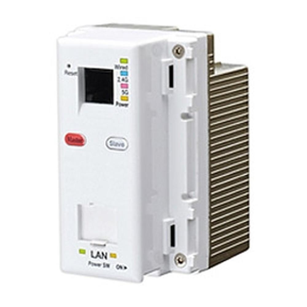 Abaniact Wi-Fi APユニット 11ac・866Mbpsタイプ コンセント埋込型 AC110Vタイプ TELポート付 AC-WAPUM-11ac-P