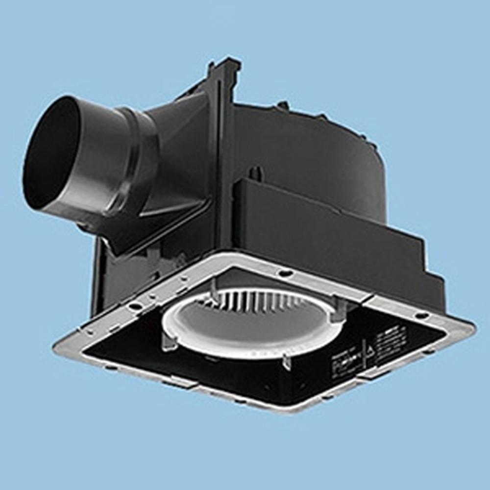 パナソニック 天井埋込形換気扇 ルーバー別売タイプ 低騒音形 24時間常時換気 強・弱速調付 埋込寸法240mm角 適用パイプφ100mm 換気スイッチ付 FY-24J8VC
