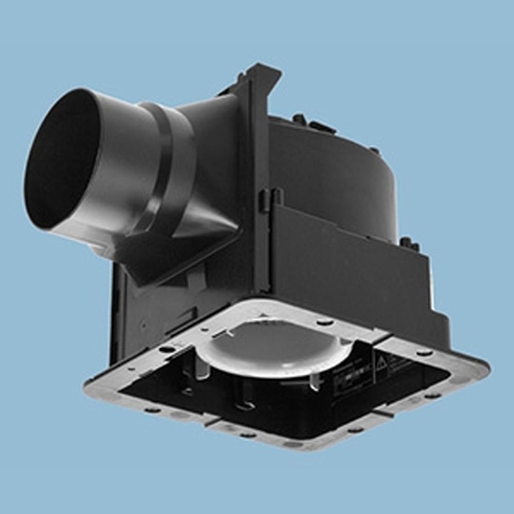パナソニック 天井埋込形換気扇 ルーバー別売タイプ 低騒音形 24時間常時換気 強・弱速調付 埋込寸法177mm角 適用パイプφ100mm 換気スイッチ付 FY-17J8VC
