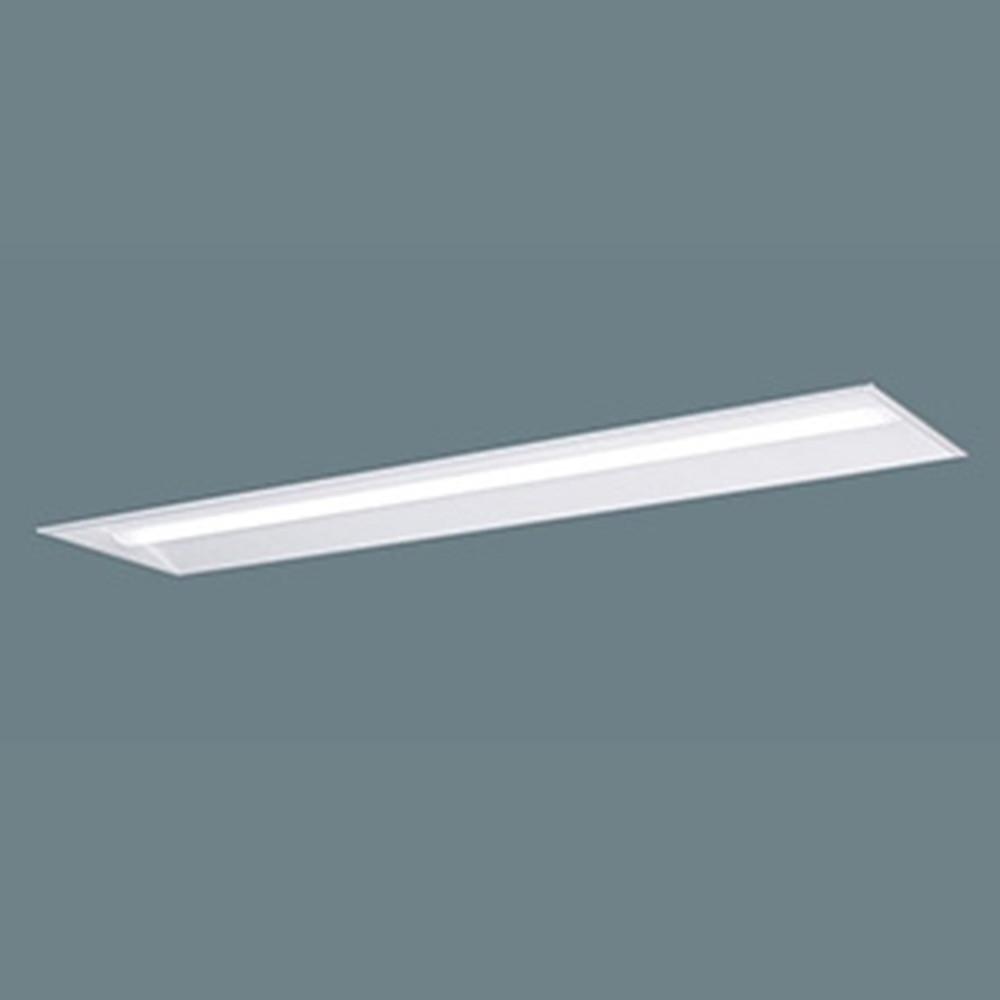 パナソニック 【お買い得品 10台セット】 一体型LEDベースライト 《iDシリーズ》 リニューアル専用タイプ 40形 埋込型 下面開放型 W220 一般タイプ 5200lmタイプ 非調光タイプ Hf32形定格出力型器具×2灯相当 昼白色 XLX459UENLE9_set