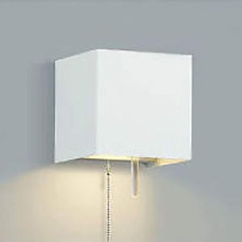 コイズミ照明 LEDブラケットライト 寝室用 白熱球60W相当 電球色 プルスイッチ付 ABE647002