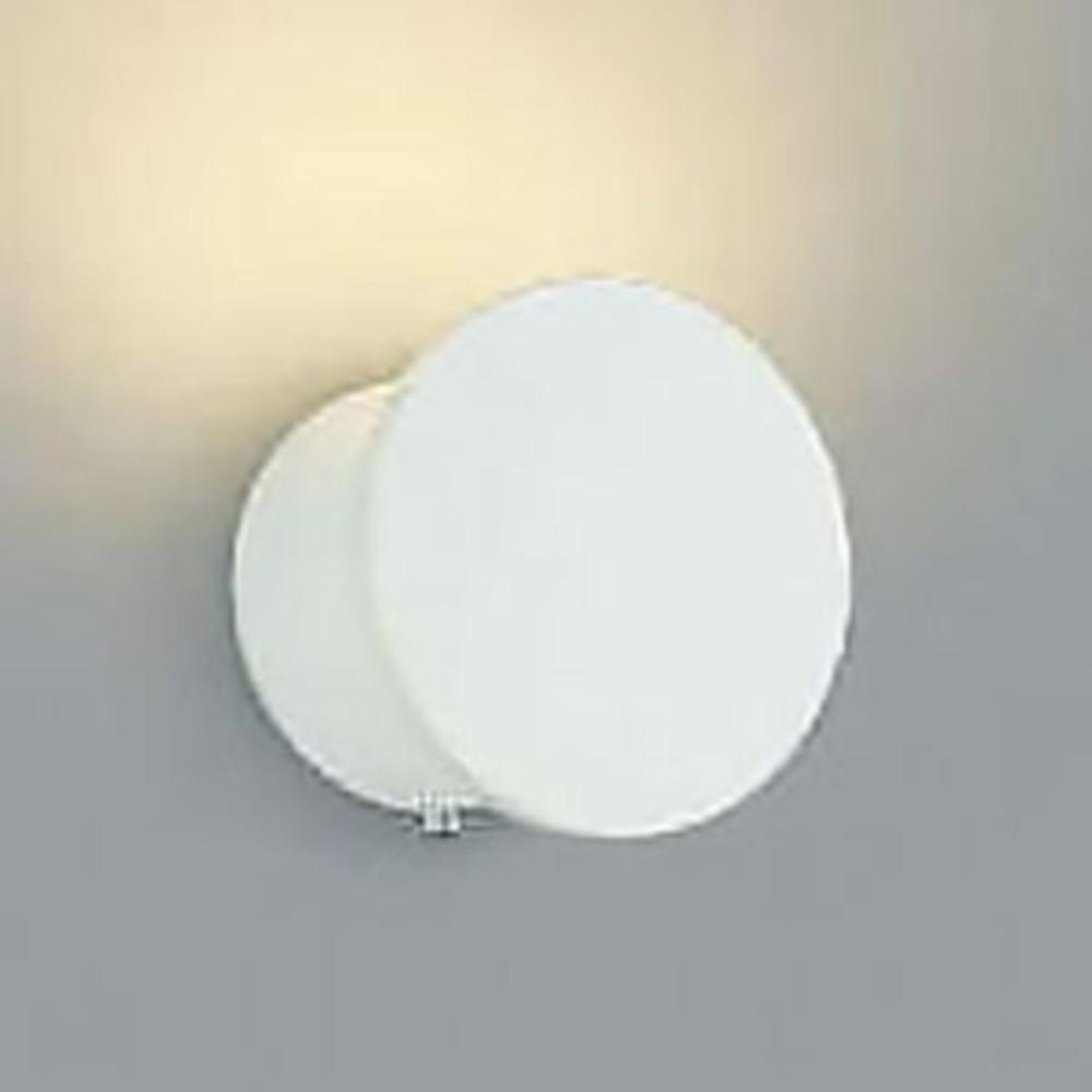 コイズミ照明 LED一体型ブラケットライト 灯具可動タイプ 白熱球25W相当 電球色 調光タイプ 白 AB38103L