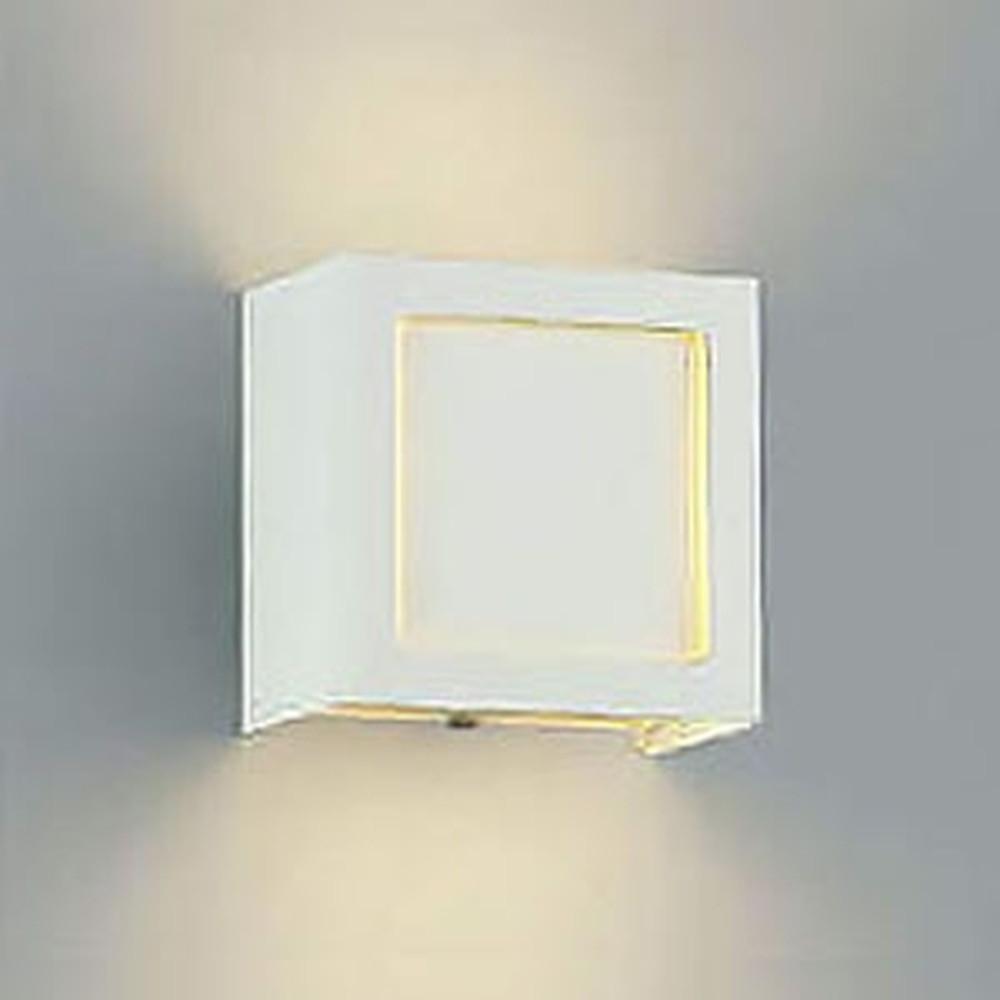 コイズミ照明 LED一体型ブラケットライト コンパクトタイプ 白熱球60W相当 電球色 調光タイプ AB38242L