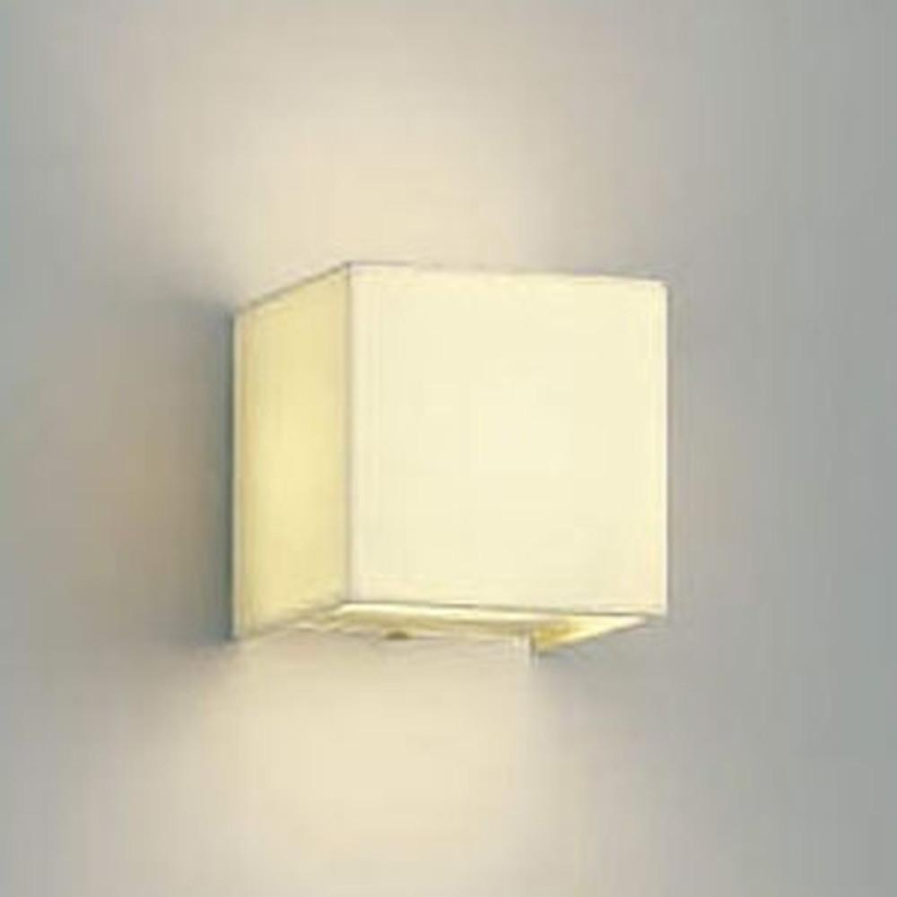 コイズミ照明 LED一体型ブラケットライト 布素材タイプ 白熱球60W相当 電球色 調光タイプ 生成色 AB38246L