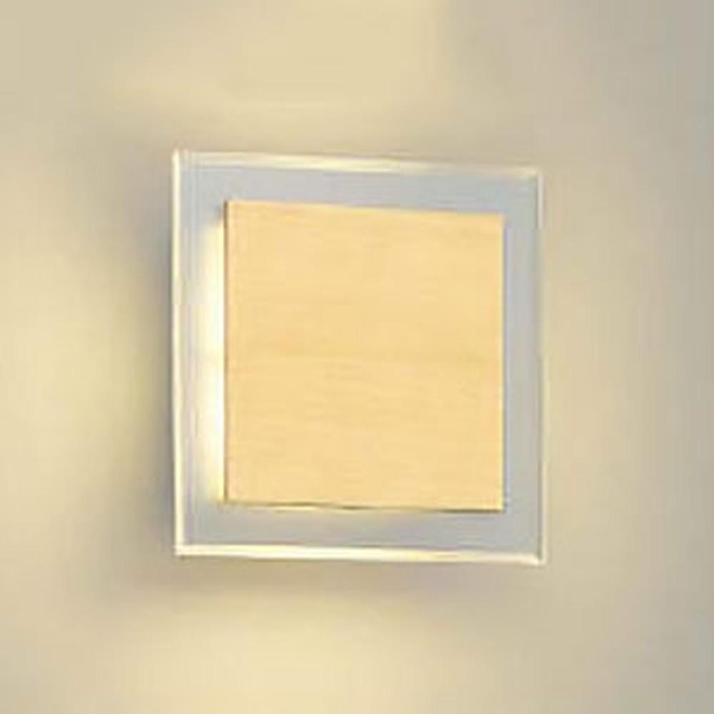 コイズミ照明 LED一体型ブラケットライト 白熱球60W相当 電球色 調光タイプ ナチュラルウッド AB38367L