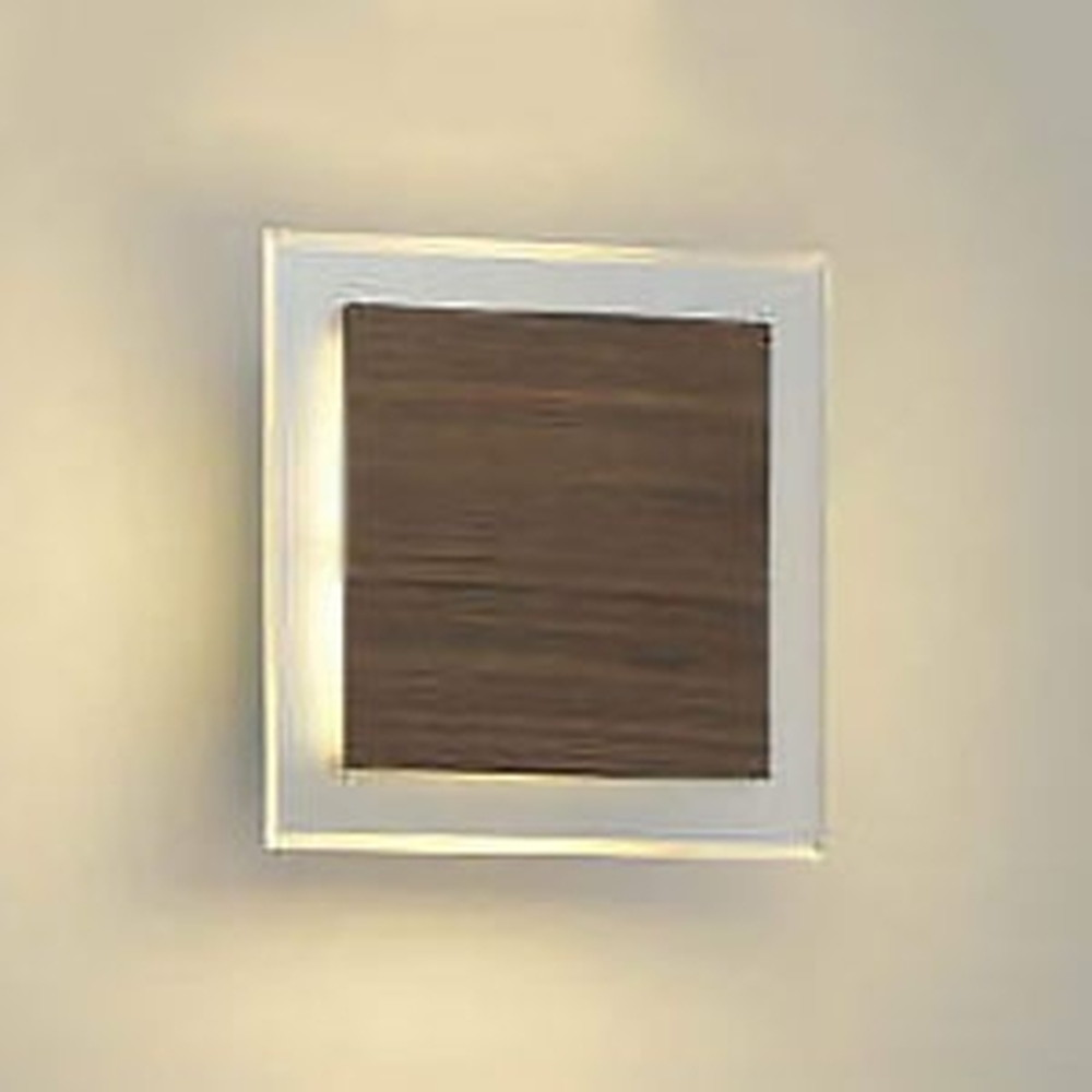 コイズミ照明 LED一体型ブラケットライト 白熱球60W相当 電球色 調光タイプ ウォームブラウン AB38368L