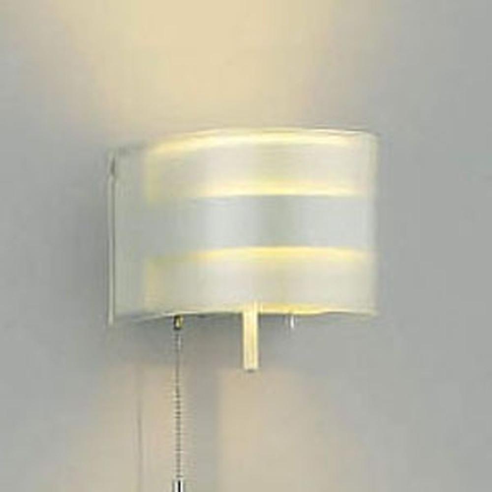 コイズミ照明 LED一体型ブラケットライト 《E.L.H®》 寝室用 白熱球40W相当 電球色 調光タイプ プルスイッチ付 AB38514L