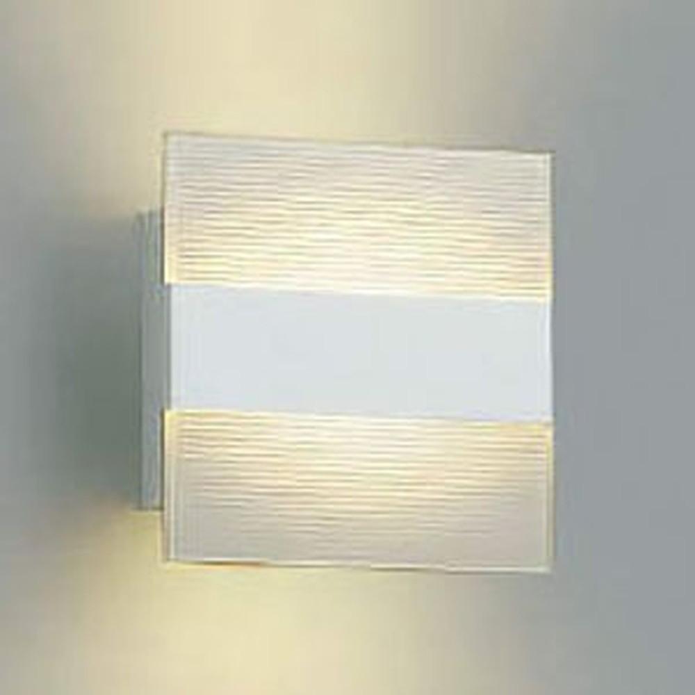 コイズミ照明 LED一体型ブラケットライト 間接タイプ 白熱球60W相当 電球色 調光タイプ ストライプ模様 AB38522L