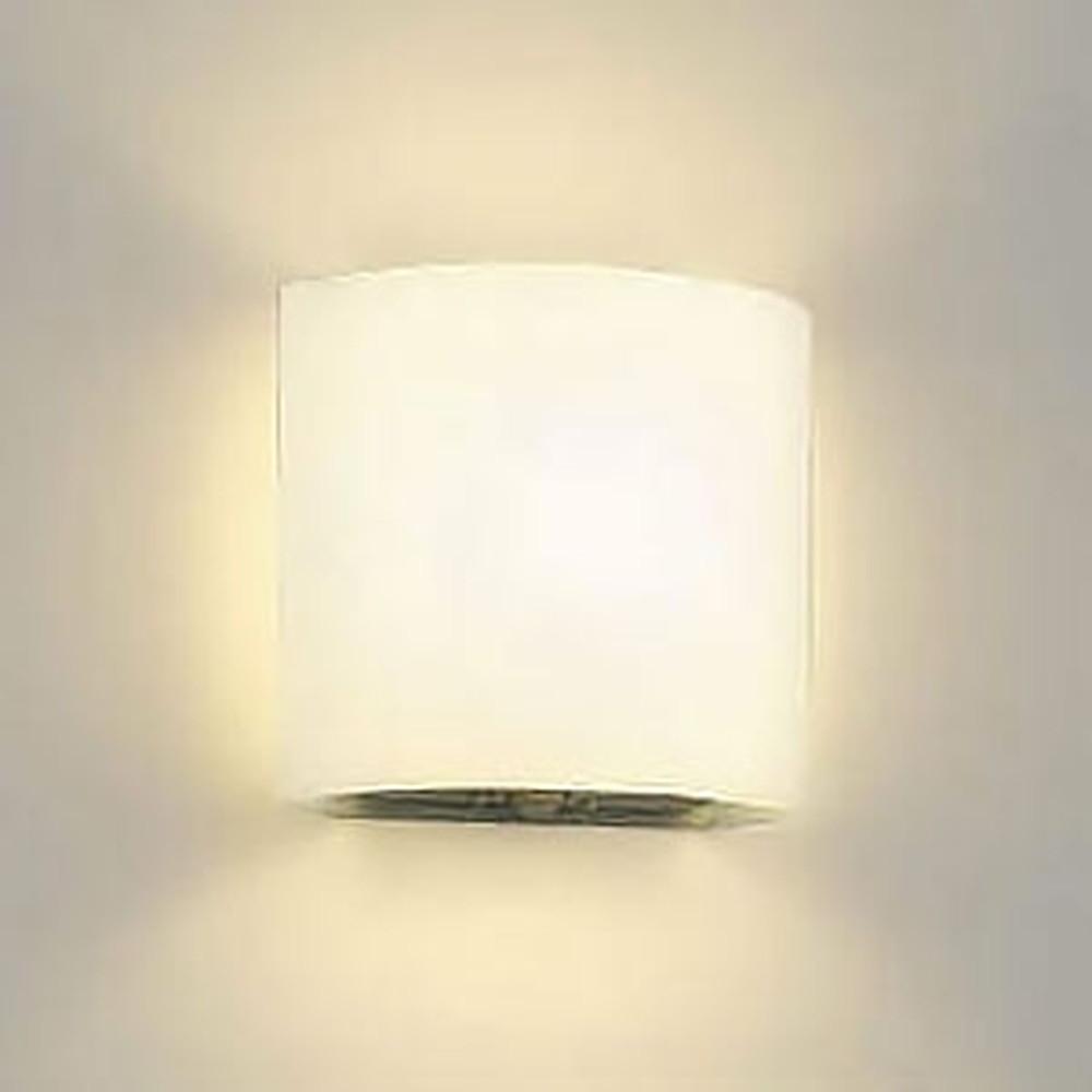 コイズミ照明 LED一体型ブラケットライト トイレ用 白熱球60W相当 電球色 人感センサ付 乳白 AB40096L