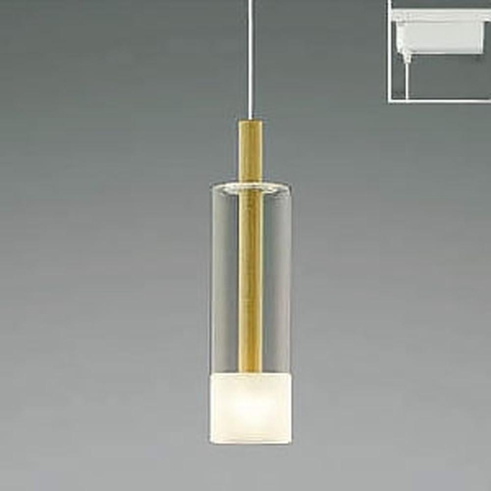コイズミ照明 LED一体型ペンダントライト 《Maple》 ライティングレール取付専用 白熱球60W相当 電球色 AP40501L