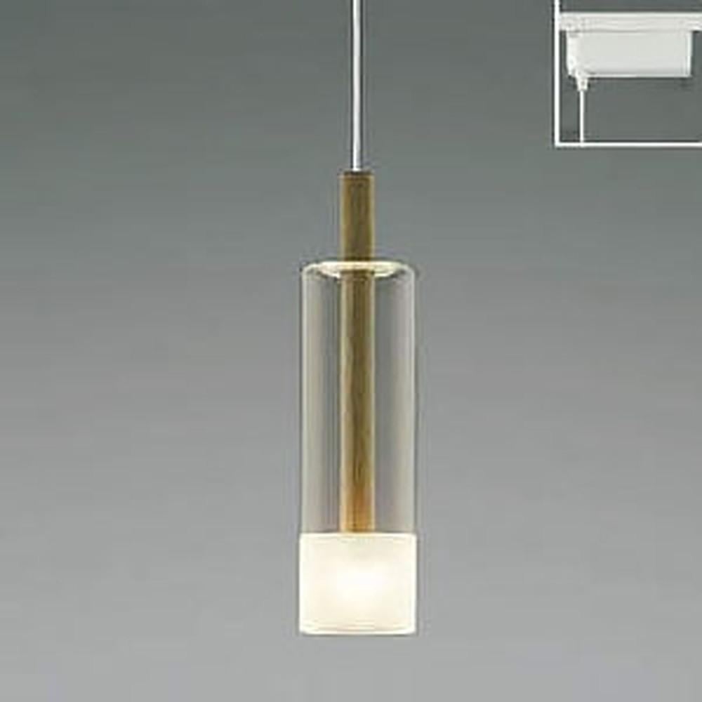 コイズミ照明 LED一体型ペンダントライト 《Walnut》 ライティングレール取付専用 白熱球60W相当 電球色 AP40502L