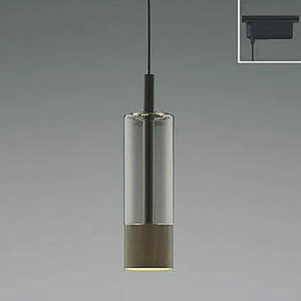 コイズミ照明 LED一体型ペンダントライト 《Black×WN》 ライティングレール取付専用 白熱球60W相当 電球色 AP40510L