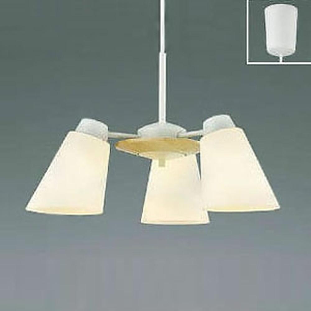 コイズミ照明 LEDペンダントライト 《FELINARE》 白熱球60W×3灯相当 電球色 ナチュラルウッド AP42072L